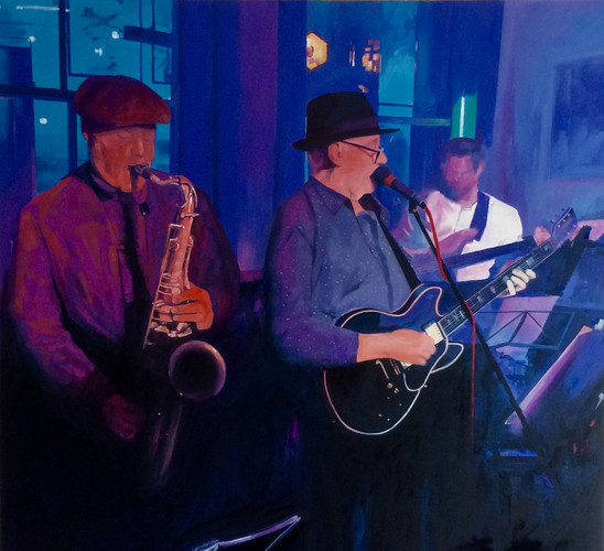 blues at the gardeners