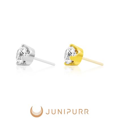 Junipurr - Threadless Prong-Set Gem