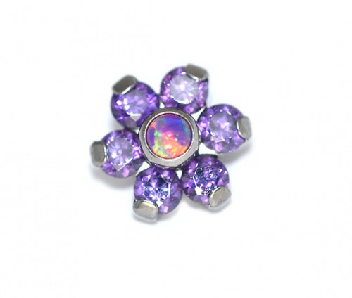 QualiTi - Purple Reign Flower Attachment