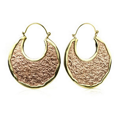 Brass Earrings (pair)