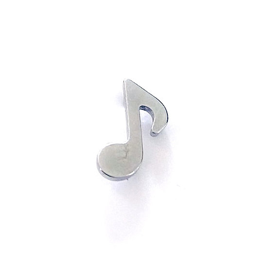 QualiTi - Titanium Music Note Attachment
