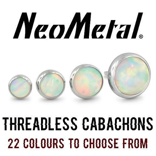 NeoMetal - Threadless Cabachon Titanium Attachments