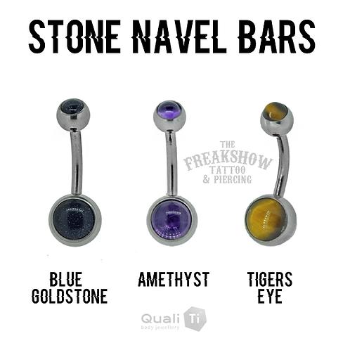 QualiTi - Stone Titanium Navel Curves