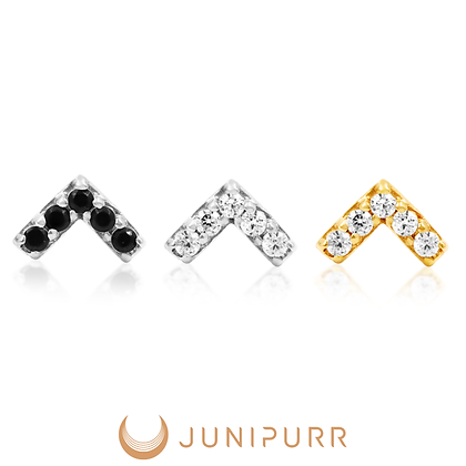 Junipurr - Threadless Chevron End