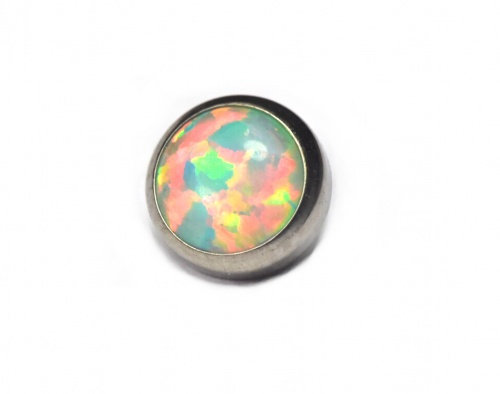 QualiTi - Opal Flat Moon Yellow Attachment