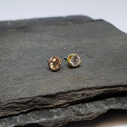 Anatometal - Threadless Prong Ends - Real Gold