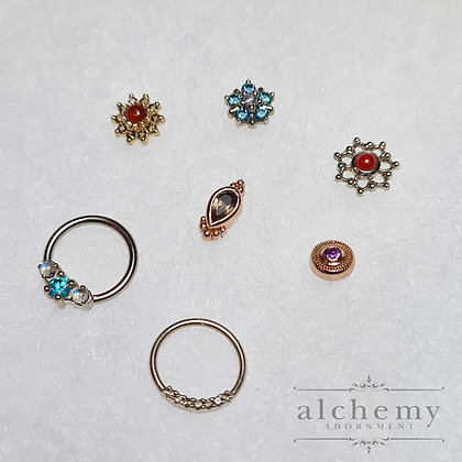Alchemy Adornment - Threadless Gold Attachments