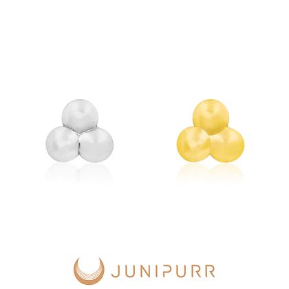 Junipurr - Threadless Tri-Bead