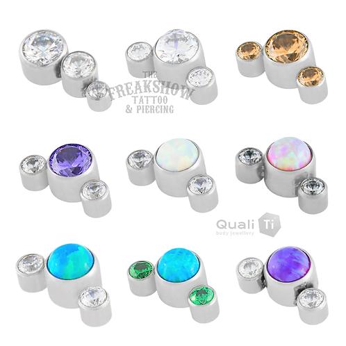 QualiTi - Small Cluster Titanium Attachments