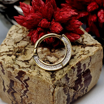 Auris - Gold Clicker Anubis Ring