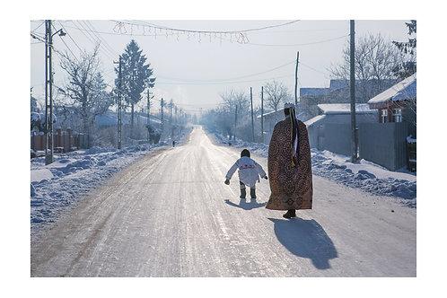 """Winter in the Village"""