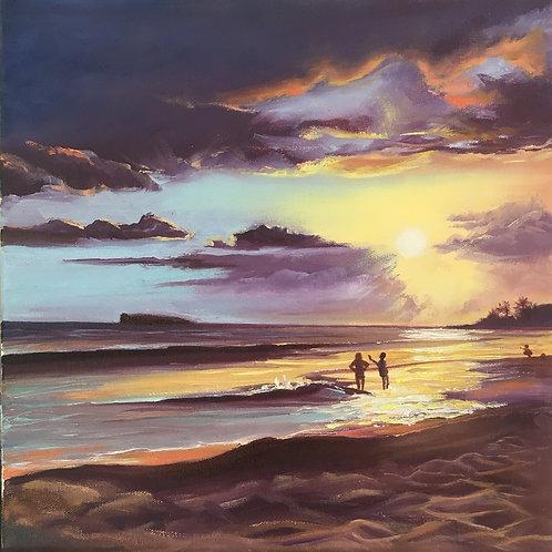 Big Beach- Makena Sunset
