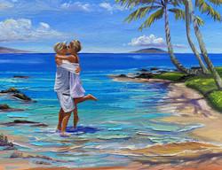 The Kiss - on Keawakapu Beach