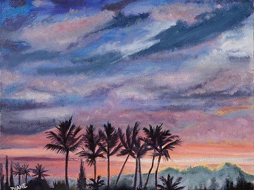 Kuaua Sunset III- South Maui