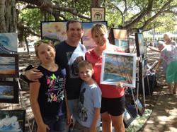 Lee and Family-Olowalu Cove