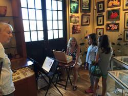 Banyan Tree demo with Diane Appler &little girls