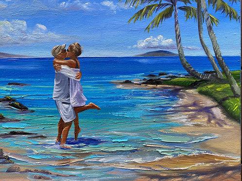 The Kiss on Keawakapu Beach