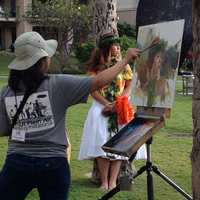 What Does a LIVE Painting Competition Look Like?