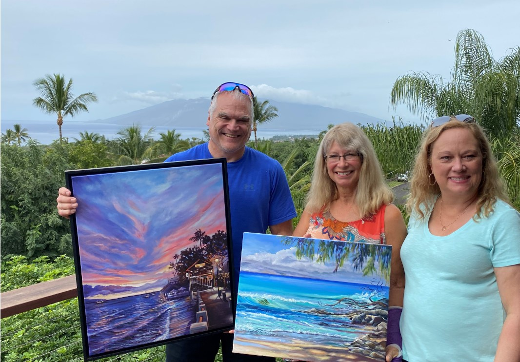 Steve and Deanna Visit Tradewinds Studio