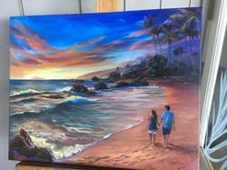 Wailea Beach -25th Anniv. 18 x 24