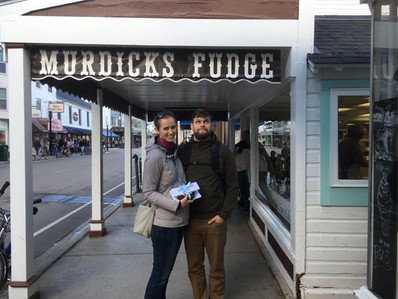 Son from Vancouver Washington, and his girlfriend- love fudge