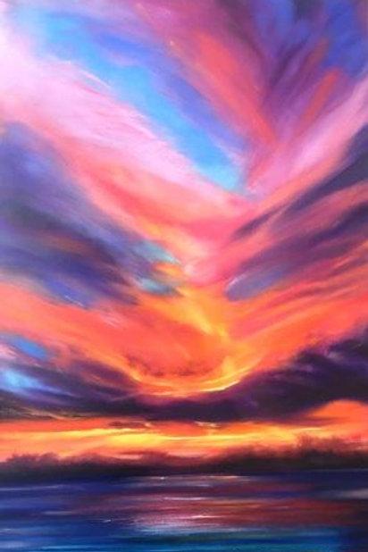 Aka Ula (Red Sunset Shadows)