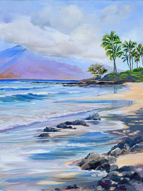 Polo Beach Morning - South Wailea Maui