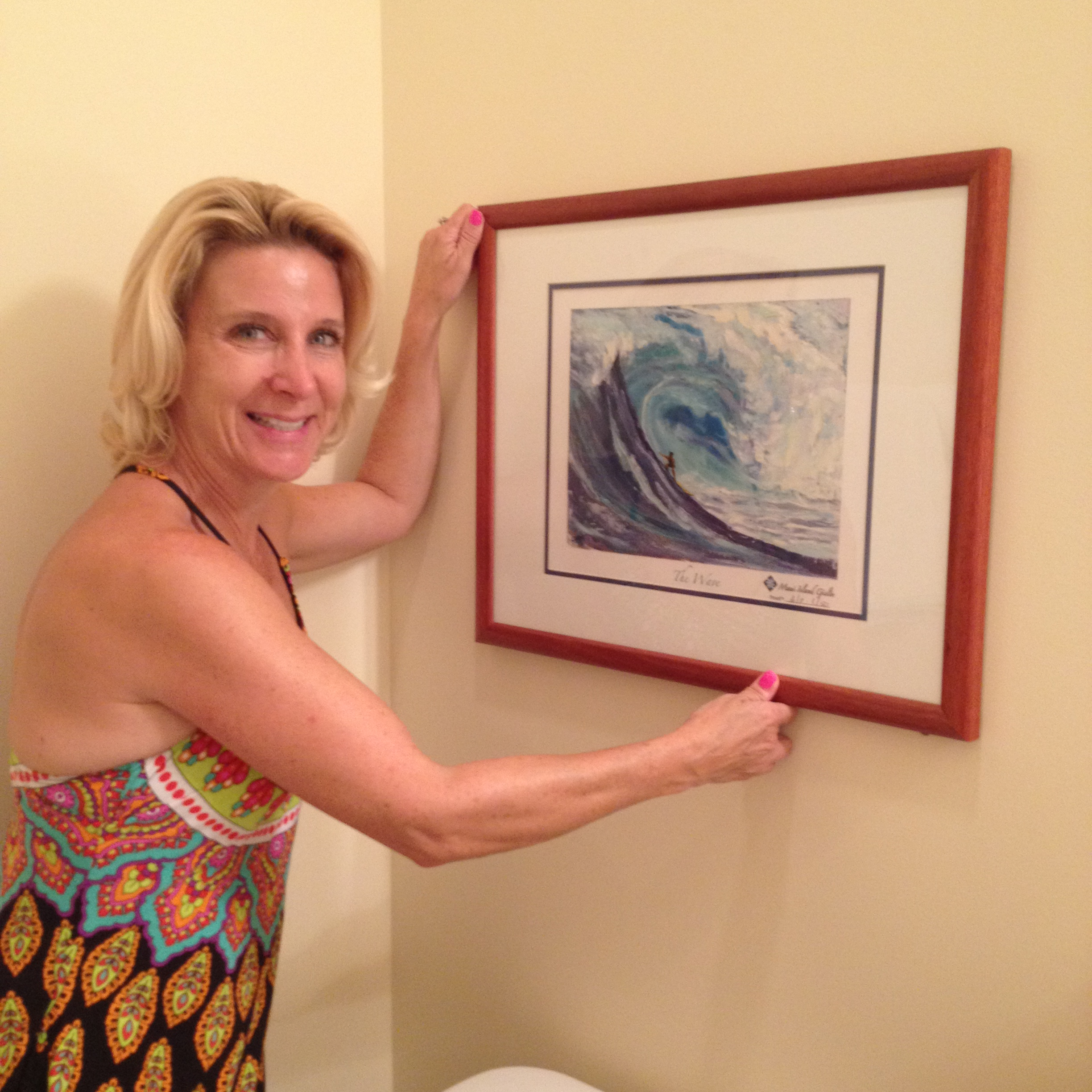 "Allison's""The Wave"" Getting Hung"