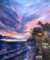 """Lahaina Paradise"" 20 x 24 oil painting"