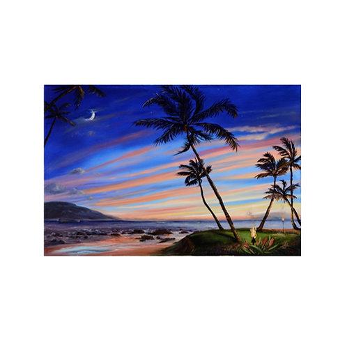 The 5 Palms Sunset