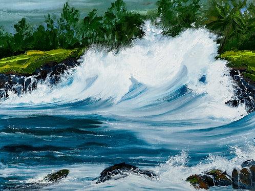 North Shore Wave-Maui
