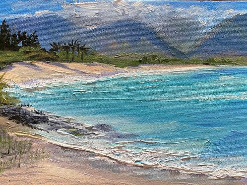 Afternoon at Ka'a Point, North Side - Maui