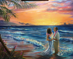 Vows in Paradise- Barb & Neal 20x24