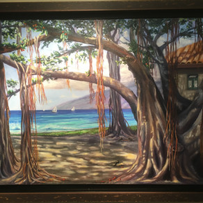 """Heart of Lahaina"" Wins the Hearts of  Gallery Visitors"