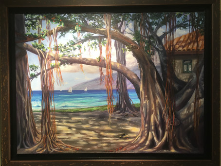"""""""Heart of Lahaina"""" Wins the Hearts of  Gallery Visitors"""