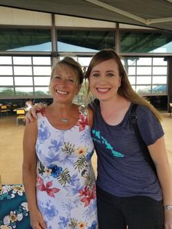 Me and Customer Melody at the ART HOP