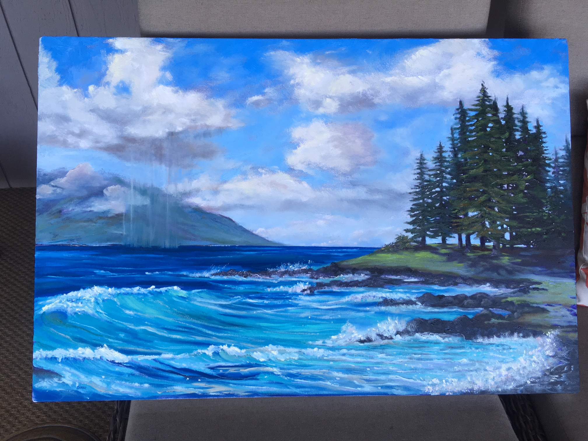 Mary's View- Kapalua Pines 36 x 24