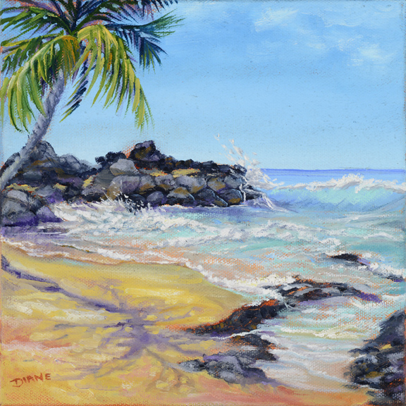 Secret Beach II 8x8