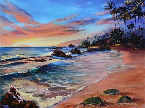Aloha Honu- Wailea Beach