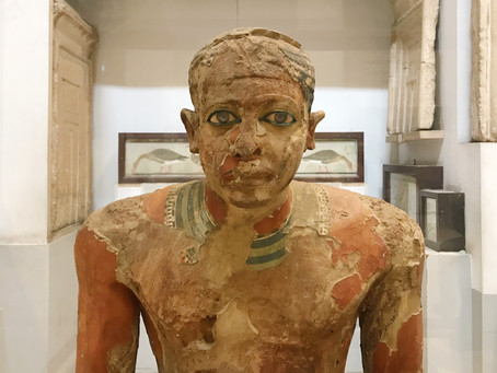 The Statues in Egypt Used to Have Eyeballs
