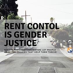 Rent Control is Gender Justice