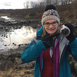 Nurdle hunting at the river Forth March 2020