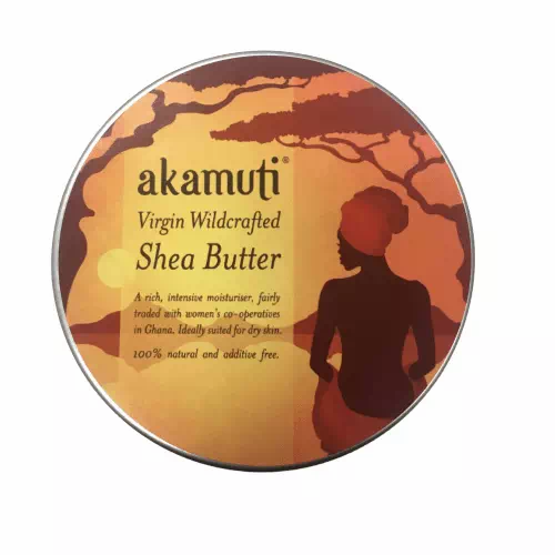 tin of organic shea butter body moisturiser