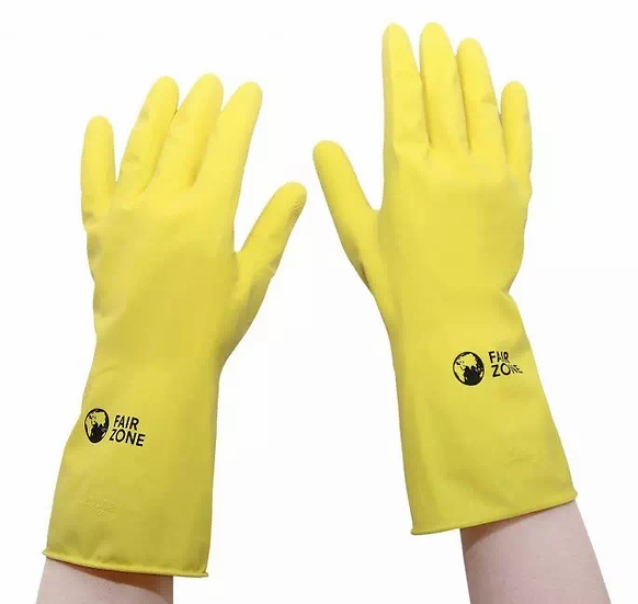 natural rubber gloves for household cleaning
