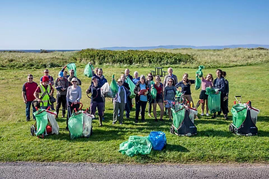 The 'Great British Beach Clean' hosted by MCS in September 2019