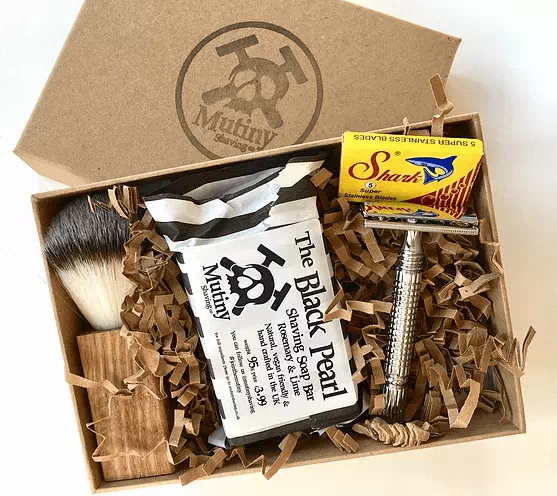 eco-friendly traditional metal safety razor set