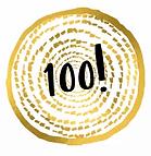 badge to celebrate 100 orders
