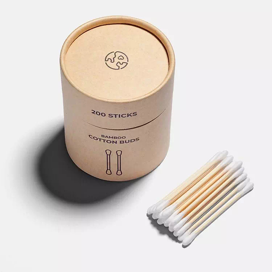 biodegradable bamboo cotton buds