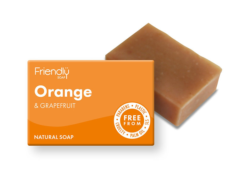Orange and Grapefruit Soap