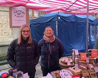 ABP at Lichfield Christmas market December 2019